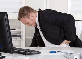 Schmerzempfindliche Nerven beruhigen