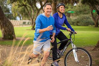 Ausdauersport verlangsamt Alterungsprozess