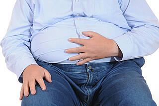übergewicht, adipositas, bauchfett, fettleber, leberkrebs