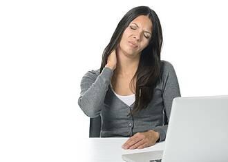 Verspannungen im Nackenberereich