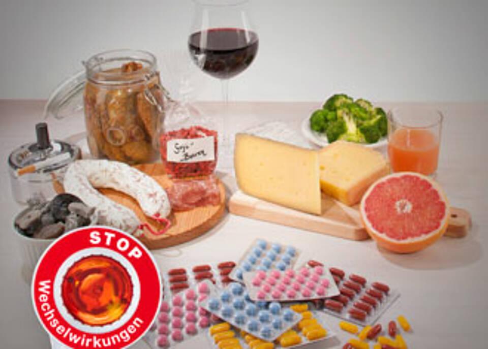 Apotheken warnen vor Wechselwirkungen mit Lebensmitteln
