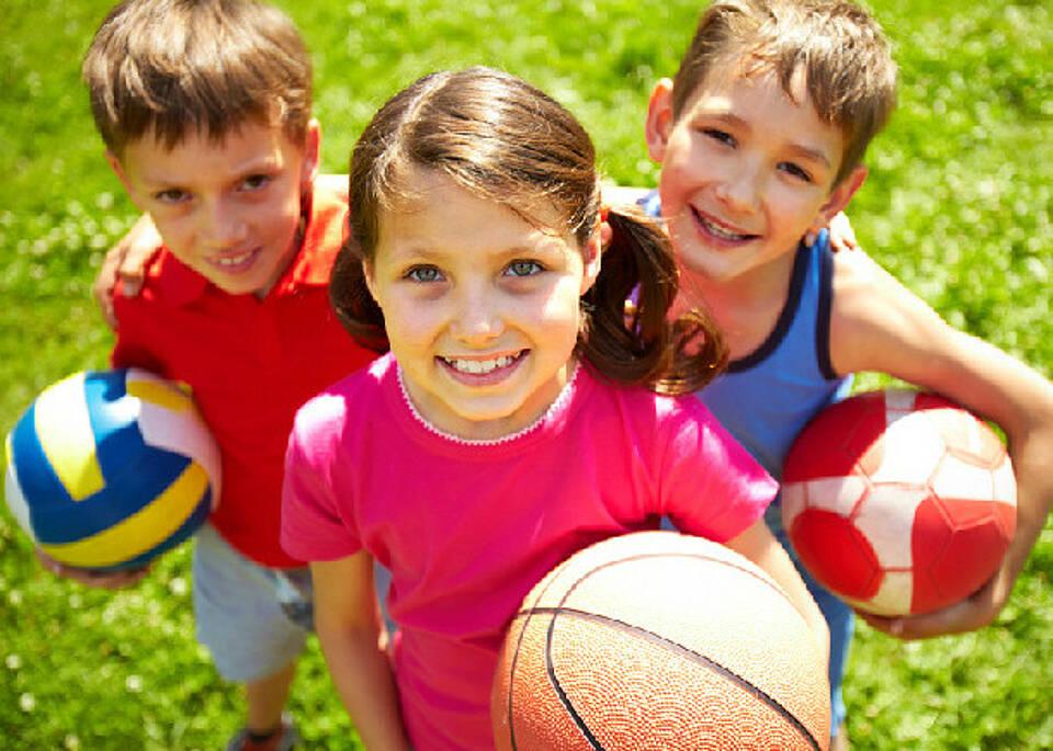 Kinder betreiben zu wenig Sport