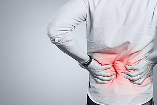 Schmerzen im unteren Rücken