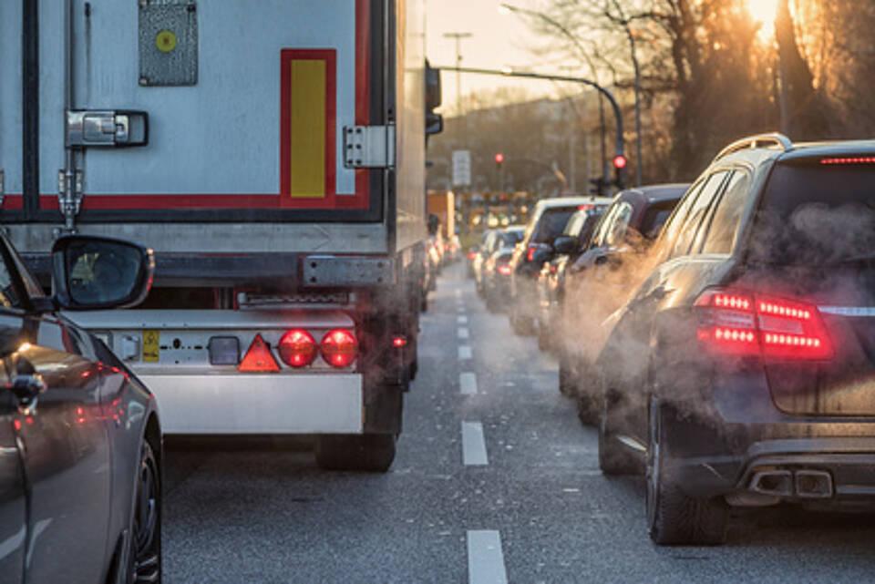 Luftverschmutzung, Stickstoffioxid, Luftschadstoffe, Umweltbundesamt