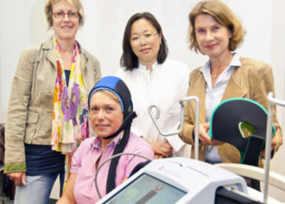 Kühlhaube verhindert Haarausfall bei Chemotherapie