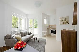 Eigene vier Wände und trotzdem nicht allein: In Reinickendorf entsteht gerade ein neues Wohnkonzept