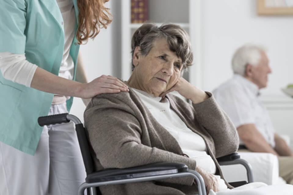 Depressionen, Pflegeheim, Senioren
