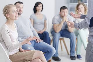 Peer Support, Psychiatrie, Drehtüreffekt