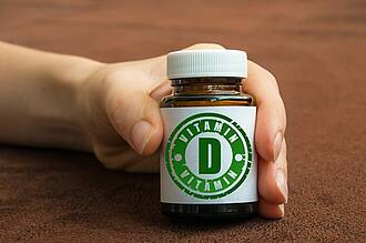 Der Körper kann Vitamin D nur mit Hilfe von Sonnenlicht bilden