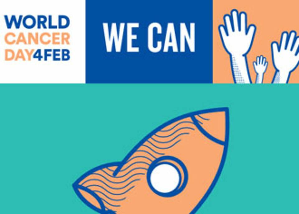 Weltkrebstag 2018 will Krebs ins öffentliche Bewusstsein rücken