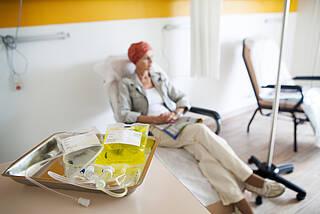 Krebs-Patienten, die auf eine Chemo warten, zählen zu den Härtefällen