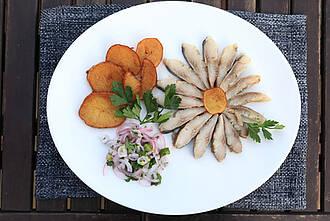 nordic diet, nordische diät, hering, seefisch, kartoffeln
