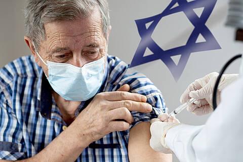 Israel hat als erstes Land der Welt die dritte Impfung eingeführt und schaut seither auf sinkende Fallzahlen
