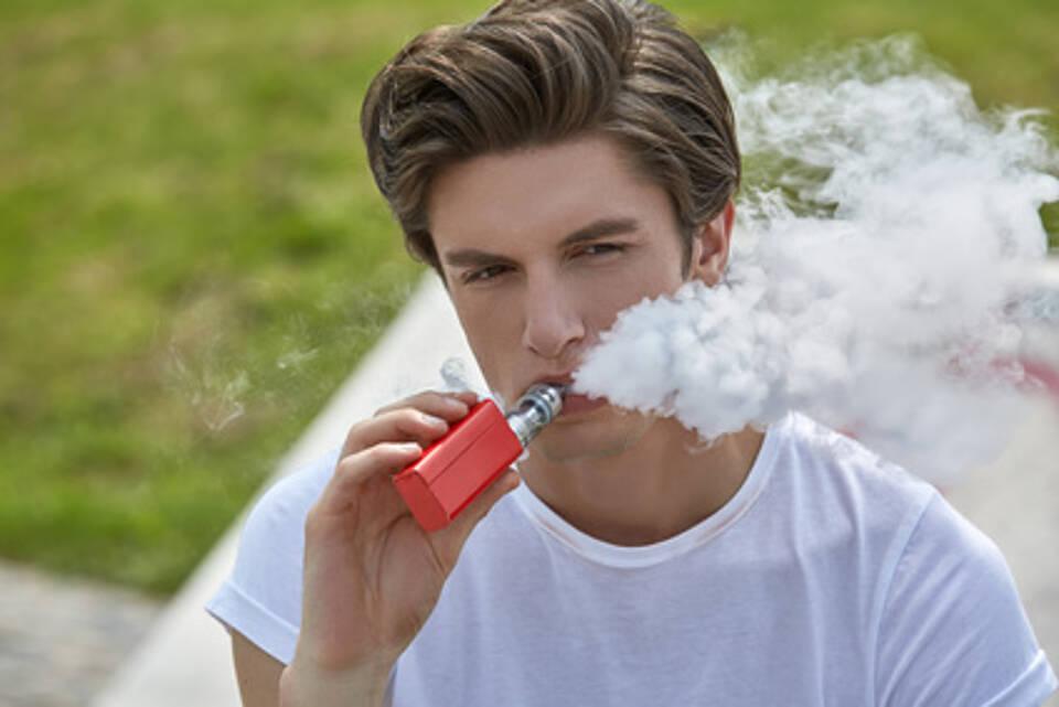 E-Zigarette als Einstiegsdroge