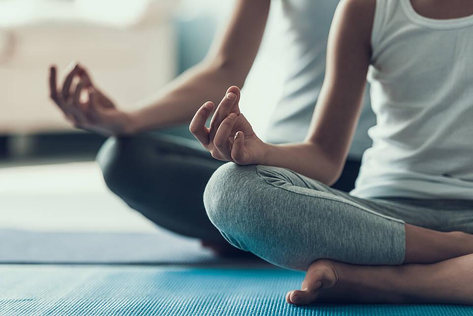 Yoga, entspannnungsübungen