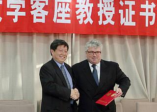 Berlin baut Wissenstransfer nach Peking aus