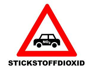 Stickstoffdioxid, Diesel, Stickoxid, Feinstaub, Luftverschmutzung