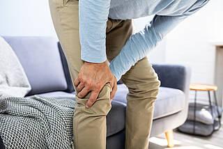Knie-Arthrose nimmt mit dem Alter zu