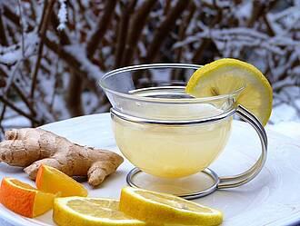 Ingwer, Zitrone, Immunsystem