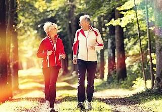 Sport verlangsamt Alterungsprozesse