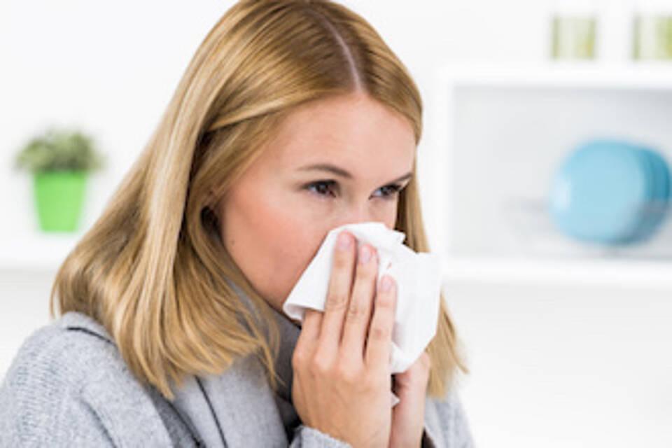 Krankenstand 2016 schwankt wegen Grippewelle