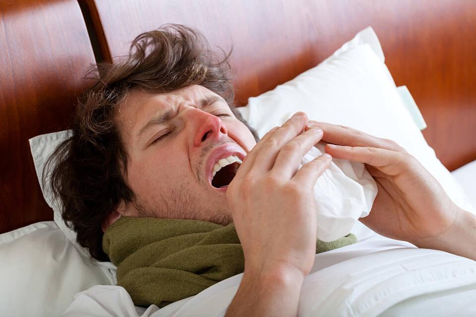 Allergie gegen Pollen und gegen Obst und Gemüse