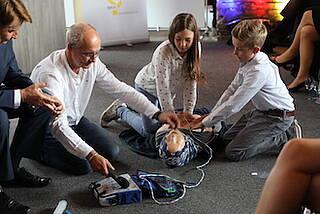 Notfallhilfe bei Herzstillstand