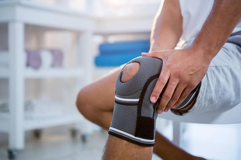 bandage, knieschmerzen, kniebandage