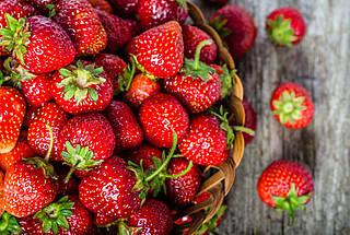 Erdbeeren, Beeren, Früchte, Obst