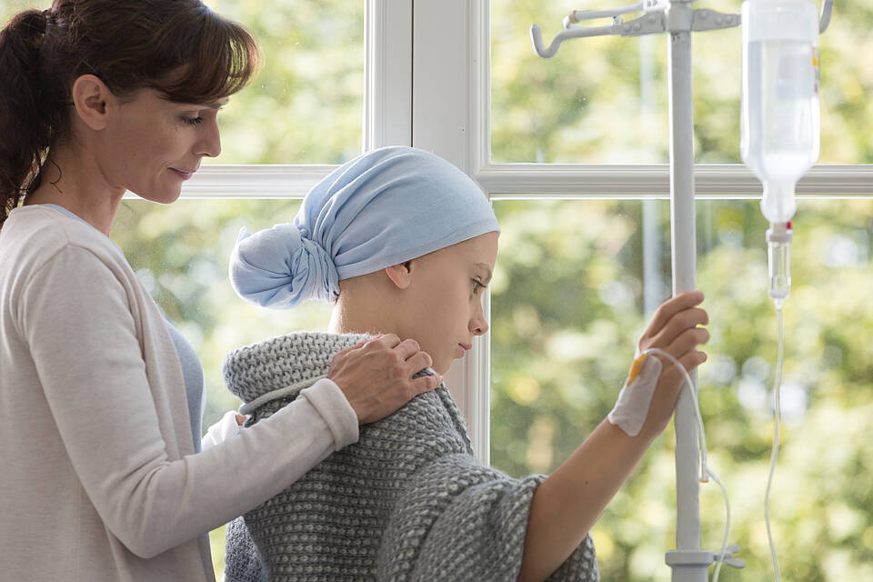 Durch die INFORM Studie bekommen krebskranke Kinder eine neue Chance