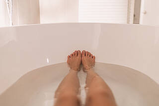 badewanne. vollbad, baden