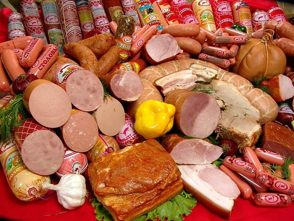 Wurst, Fleisch, Keime