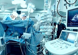 Katheter-Operationen am Herzen