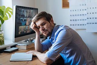 Ein Symptom von Long-Covid ist die ausgeprägte Erschöpfung (Fatigue)