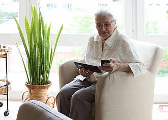 Auch im Alter wollen die Menschen ein selbstbestimmtes Leben in den eignen vier Wänden führen.