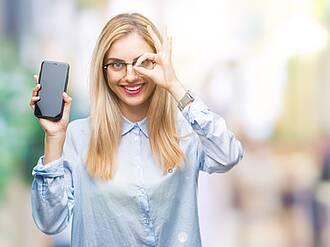 Augencheck, Smartphone, Augenerkrankungen
