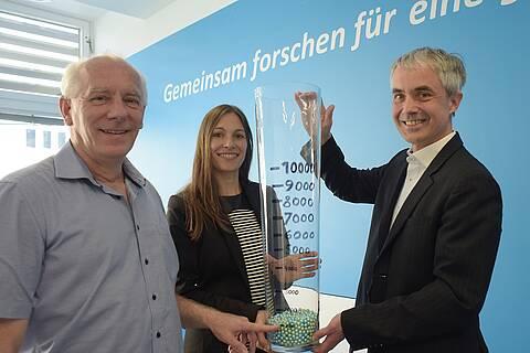An der deutschen Gesundheitsstudie Nationale Kohorte nimmt auch Werner Niederle (links) teil.