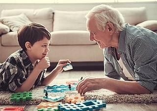 Soziale Aktivitäten, kognitiver Verfall, Senioren, Demenz