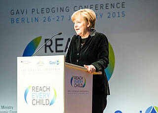 Geberkonferenz 2015 in Berlin: 7,5 Milliarden US-Dollar für Gavi-Impfallianz