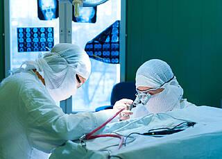 Moderne Katheter nach Schlaganfall wirksam