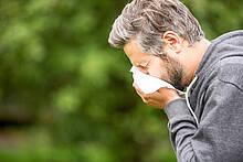 Jedes sechste Kind reagiert bereits allergisch auf Pollen