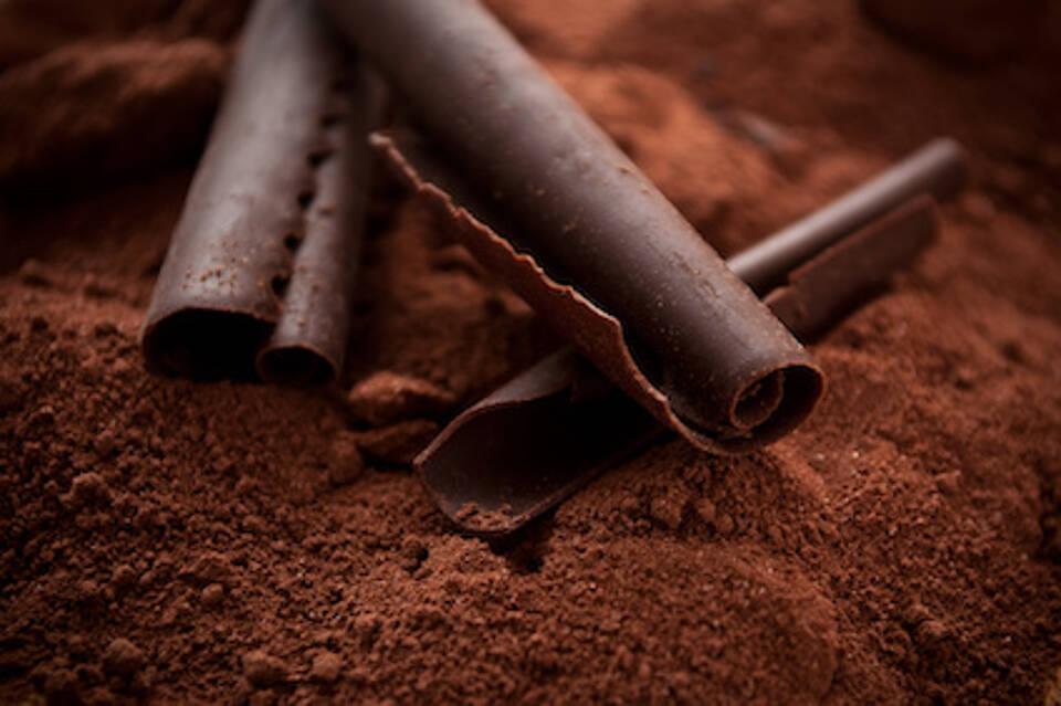 Kakao, Kakaopulver, dunkle Schokolade