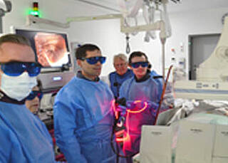 Photodynamische Therapie , Gallengangkrebs