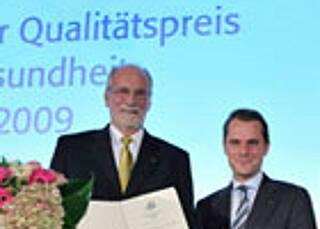 Deutscher Qualitätspreis Gesundheit 2009 verliehen
