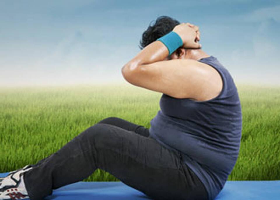 Bewegungsmangel tödlicher als Übergewicht