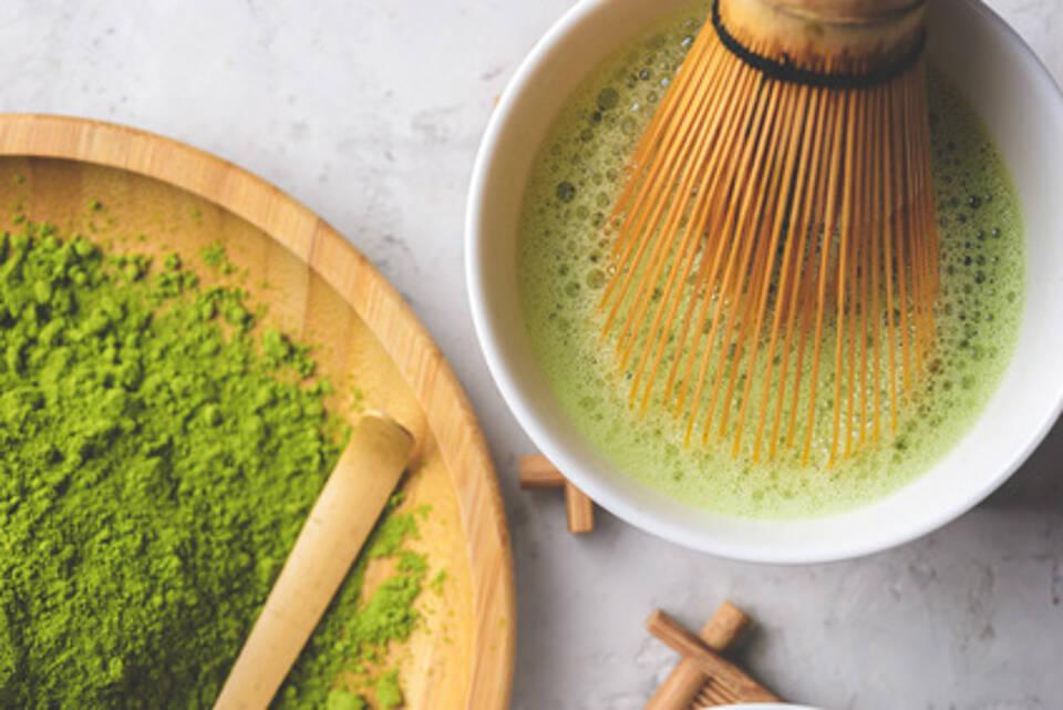 Matcha-Tee, Grüner Tee, Grüntee