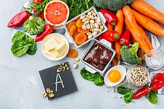 Lebensmittel, Vitamin A