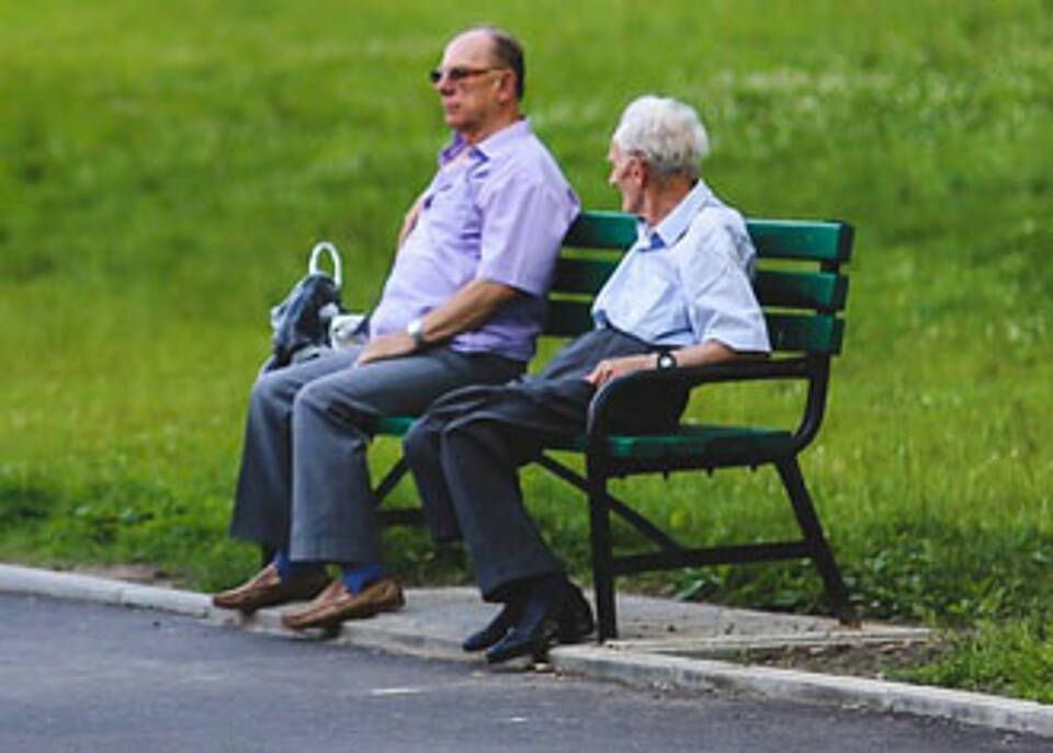 Ein Garten ist eine Bereicherung für Pflegeheimbewohner