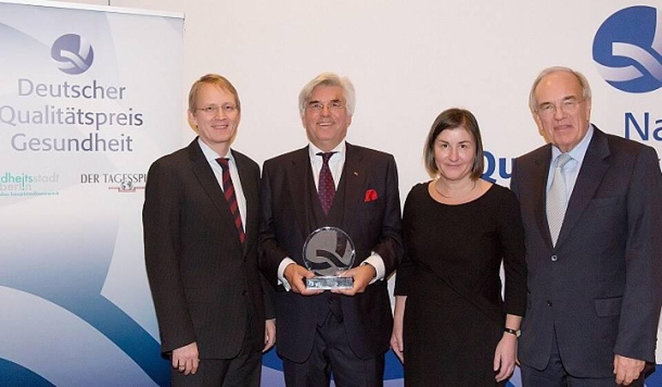 Deutscher Qualitätspreis Gesundheit 2012
