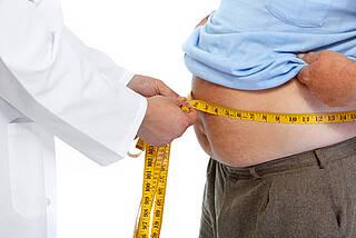 Mit Übergewicht ist nicht zu spaßen